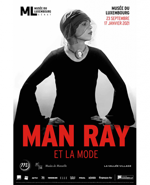 Affiche expo Man Ray